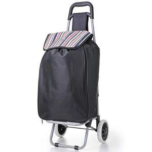 Hoppa 51L Expanding Lightweight Foldable Wheeled Shopping Trolley - £13.99 Delivered @ Packed Direct