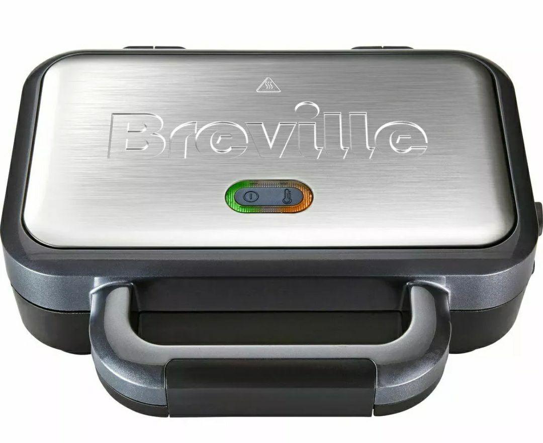 BREVILLE VST041 Deep Fill Sandwich Toaster - Graphite & Stainless Steel £24.99 @ Currys PC World Ebay