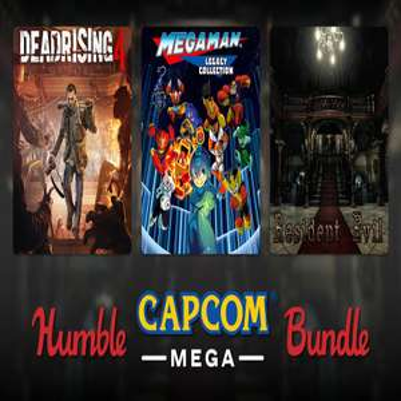Humble Capcom Mega Bundle - From £1 - Humble Store