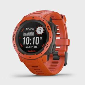 GARMIN Instinct Multi-Sport GPS Watch Red/Grey, £157.50/£165.83 at Millets (discount at checkout)