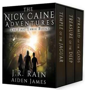 Nick Caine Books 1-3 by J.R. Rain and Aiden James FREE on Kindle @ Amazon