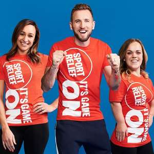 Sport Relief T-Shirts are 1p instore @ Sainsbury's (Stevenage)
