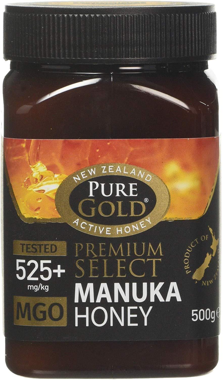 Pure Gold Premium Select Manuka Honey 525+ Mgo 500g - £35.07 @ Amazon
