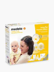 Medela Swing Flex Premium Edition Electric Breast Pump Set - £101.49 delivered @ John Lewis & Partners