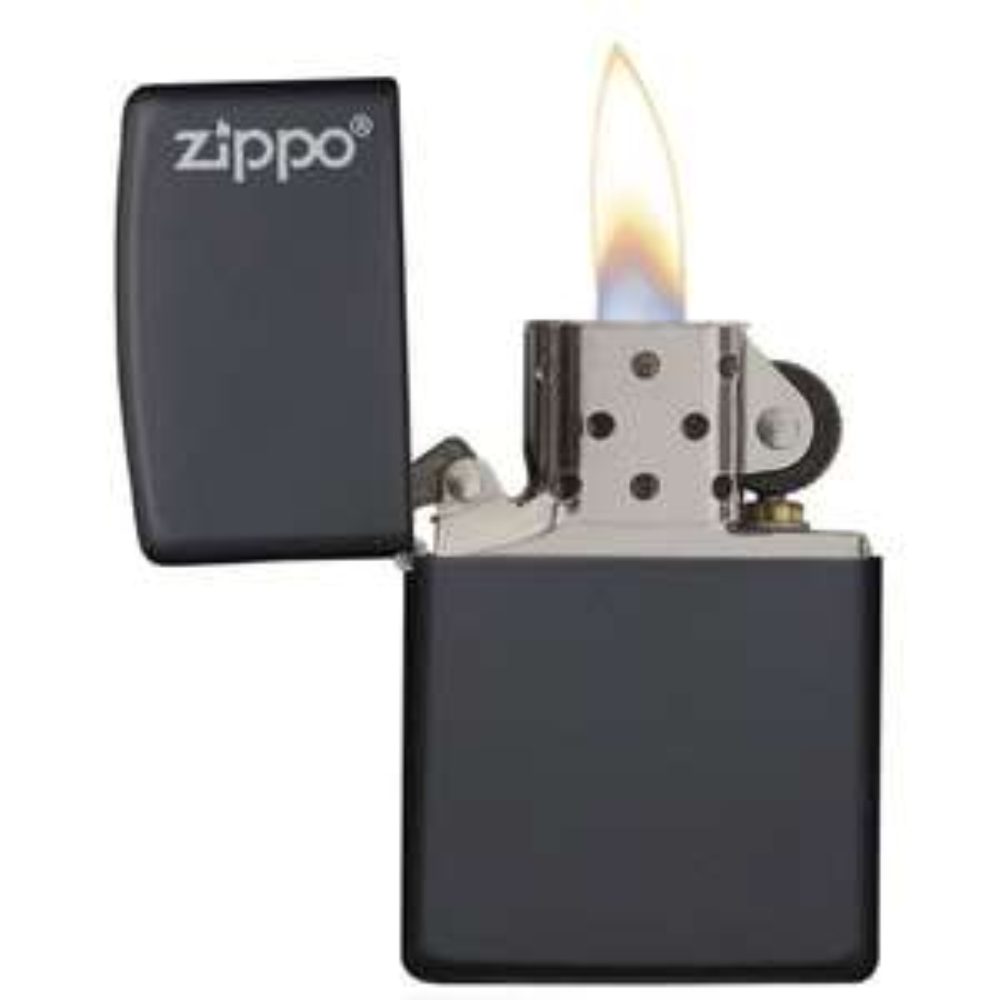 Zippo 218ZL Classic Windproof ZIPPO Lighter with Logo Black Matte Regular, £12.99 at Picstop