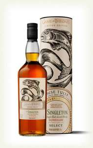 House Tully& Singleton of Glendullan Reserve-Game of Thrones £22.75 +£4.95 delivery but free delivery 5+ Master of Malt + 10% Topcashback