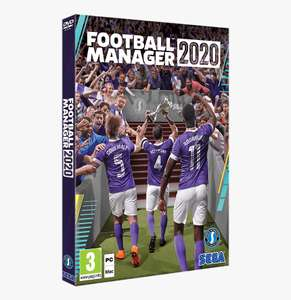 Football Manager 2020 free to play on Steam until April 1st (PC/Mac)
