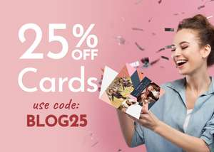 25% off cards including Mother's Day @ Funky Pigeon