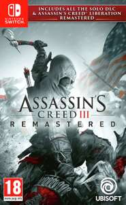 Assassin's Creed 3 Switch - £17.99 @ Argos