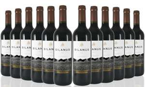12 Bottles of Silanus Spanish Red Wine £38.99 + £9.99 delivery @ groupon