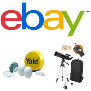 15% Off Selected Categories @ eBay / Currys_pcworld - Min Spend £25 / Max Discount £60
