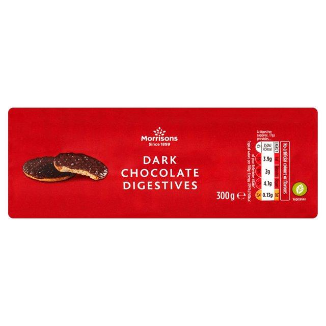 Morrisons Dark Chocolate Digestives 300g - 45p @ Morrisons
