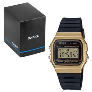 Casio Classic Digital LCD Watch with Stopwatch, Alarm, Timer etc. F-91WM-9AEF This/Blue - £12.59 With Code Delivered @ 7dayshop