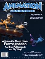 Free year's digital subscription to Animation Magazine