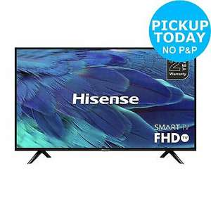 Hisense H40BE5500UK 40 Inch 1080p Full HD Smart WiFi LED TV - Black, £217.55 at argos/ebay with code