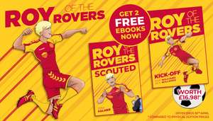 Footie Fans!! Roy of the Rovers free Graphic Novel & Ebook (digital)