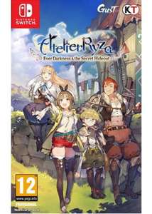 Atelier Ryza: Ever Darkness & the Secret Hideout for switch from Base £37.85 delivered @ Base.com