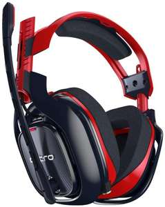 ASTRO Gaming A40 TR-X Edition Wired Gaming Headset for PC, Xbox and PlayStation - Red/Blue £99.99 @ Amazon