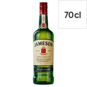 Jameson Irish whiskey (70cl) £16 @ Tesco in store and online