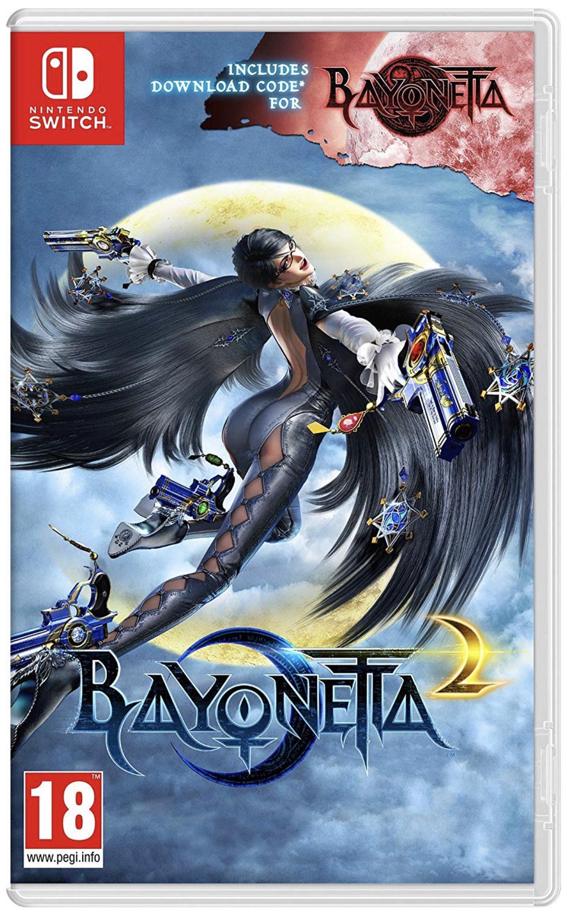 Bayonetta 2 for Switch £34.99 Amazon