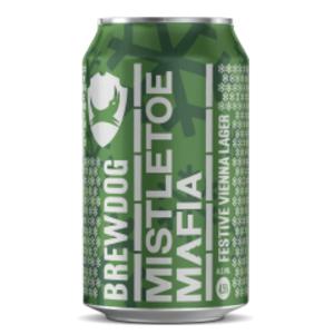 BrewDog Mistletoe Mafia 80p per can + £5 delivery