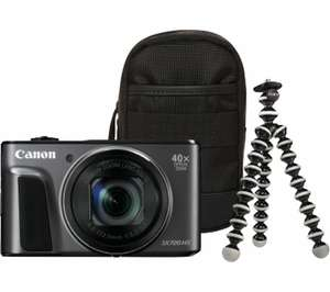 CANON PowerShot SX720 HS Superzoom Compact Camera & Travel Kit £169.15 Using Code @ Currys_pcworld