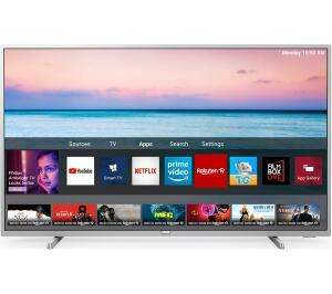 """Philips 43PUS6554 43"""" Smart 4K Ultra HD TV £245.65 delivered (using code) - 2 Years Warranty @ Currys / eBay"""