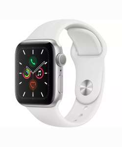 APPLE Watch Series 5 - Silver Aluminium with White Sports Band, 40 mm £338.15 @ Currys Ebay