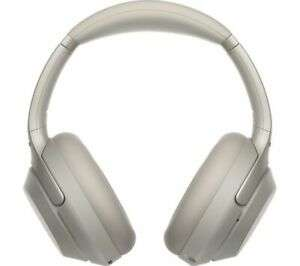 Sony WH-1000XM3 Bluetooth Noise Canceling Headphones - Silver - Brand New - Currys Ebay - £220.15