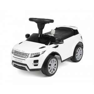 Range Rover Evoque foot to floor kid's ride on car in white for £29.99 click & collect @ Ryman