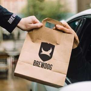 BrewDog Drive Thru - 30% discount or 50% discount for NHS with codes - pick up your favourite food and drink from our bars