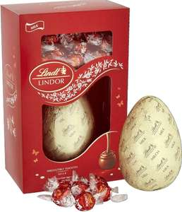 Half price Easter eggs 285g £5 @ Lindt Swindon