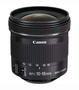 CANON EF-S 10-18 mm f/4.5-5.6 IS STM Wide-angle Zoom Lens £165.75 w/code @ Currys eBay
