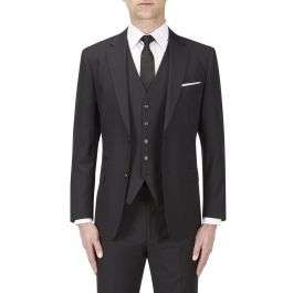 Three piece Joss tailored fit suit in black (38/42 chest) £44.10 delivered @ Skopes online