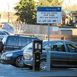 Free parking in all of Aberdeenshire Council's pay and display car parks