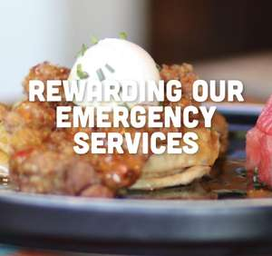 50% Off Food for Emergency Service Personnel @ Turtle Bay