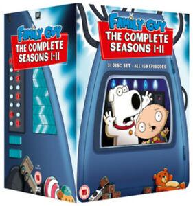 Family Guy: Seasons 1-11 DVD (2011) Seth MacFarlane cert 15 31 discs Very Good Condition £8.15 at musicmagpie eBay