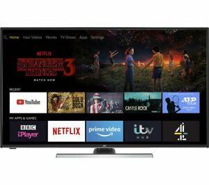 "JVC LT-40CF890 Fire TV Edition 40"" Smart 4K Ultra HD HDR LED TV with Amazon Alexa £237. 99 @ Currys ebay"