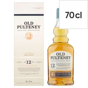Old Pulteney 12 Year Old Malt Whisky 70Cl - £24 @ Tesco