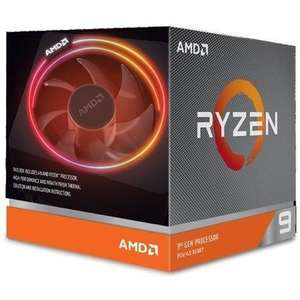 AMD Ryzen 9 3900X Socket AM4 3.8GHz Processor With Wraith Prism RGB Cooler £397.97 Delivered @ Laptops Direct