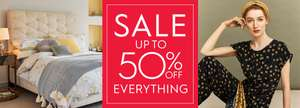 Up to 50% off closing down sale (Standard Delivery Charge - £4.95)