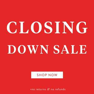 Closing down sale at DuoBoots - extra 25% off for sales over £160
