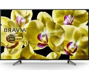 """SONY BRAVIA KD65XG8096BU 65"""" Smart 4K Ultra HD HDR LED TV with Google Assistant Free 5 Year Guarantee £739 with code @ Currys Ebay"""