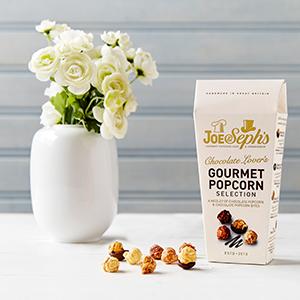 2x Joe & Seph's Chocolate Gourmet Popcorn [105g each] 'free' with £3 P&P @ Vodafone VeryMe