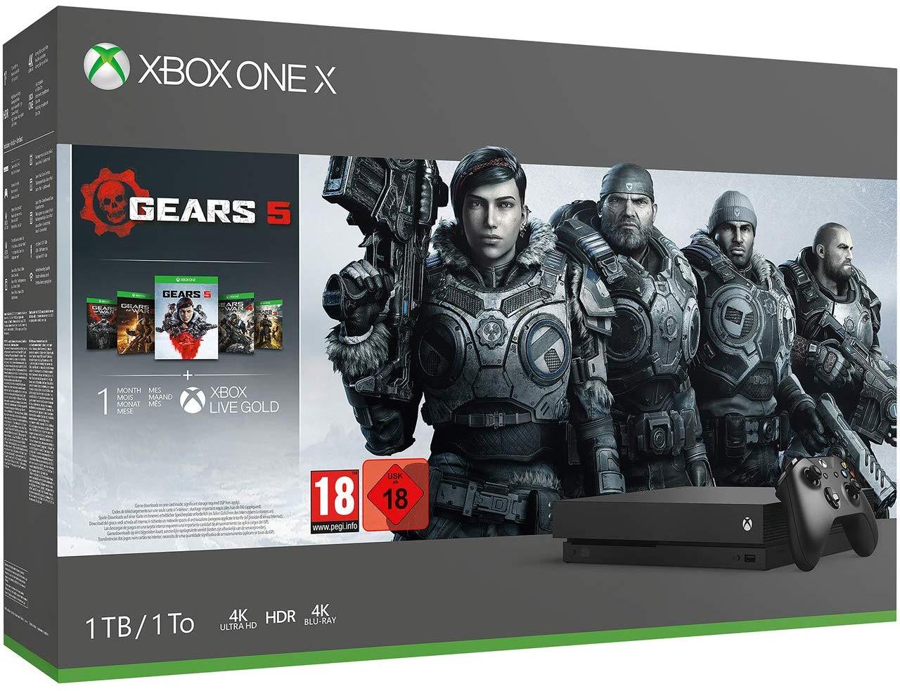 Xbox One X 1TB Console & Gears 5 / Star Wars Jedi: Fallen Order Bundle / Forza Horizon 4 LEGO Speed Bundle +FREE Headset for £259.99 @ Argos