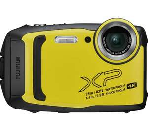 FUJIFILM FinePix XP140 Tough Compact Camera - Yellow - Currys / eBay £109.65 with code. (Water / shock proof)