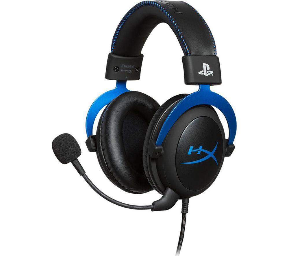 HYPERX Cloud PS4 Gaming Headset - Black & Blue £42.99 Currys
