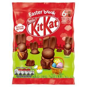 2 X Kitkat Bunny Mini Bunnies 66g £1.50 @ Morrisons