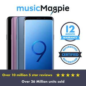 Samsung Galaxy S9 Plus 128gb - Refurbished Grade C - Good £213.74 @ MusicMagpie Ebay - Vodafone