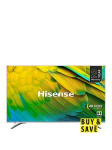 Hisense H75B7510UK 75 inch 4K HDR LED Smart TV £849 @ Very (£771.09 with credit agreement)